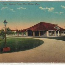 Sippican Tennis Club Historical Photo Color